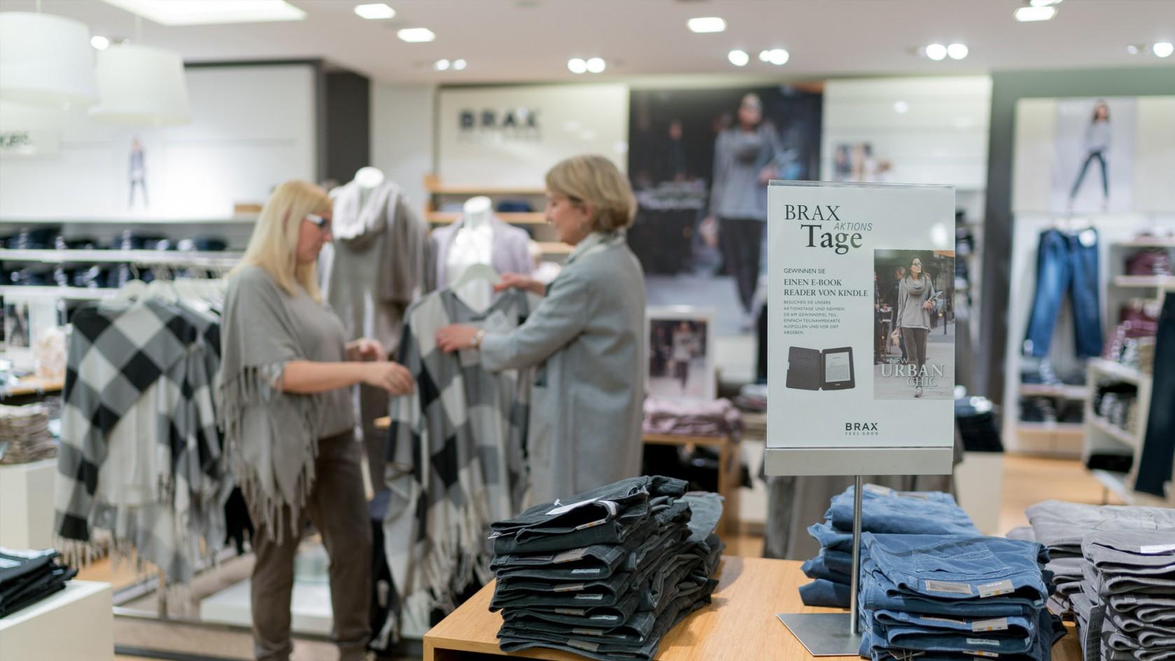 Spielraum große Vielfalt Stile Shop für authentische BRAX Aktionstage | Stein Promotions