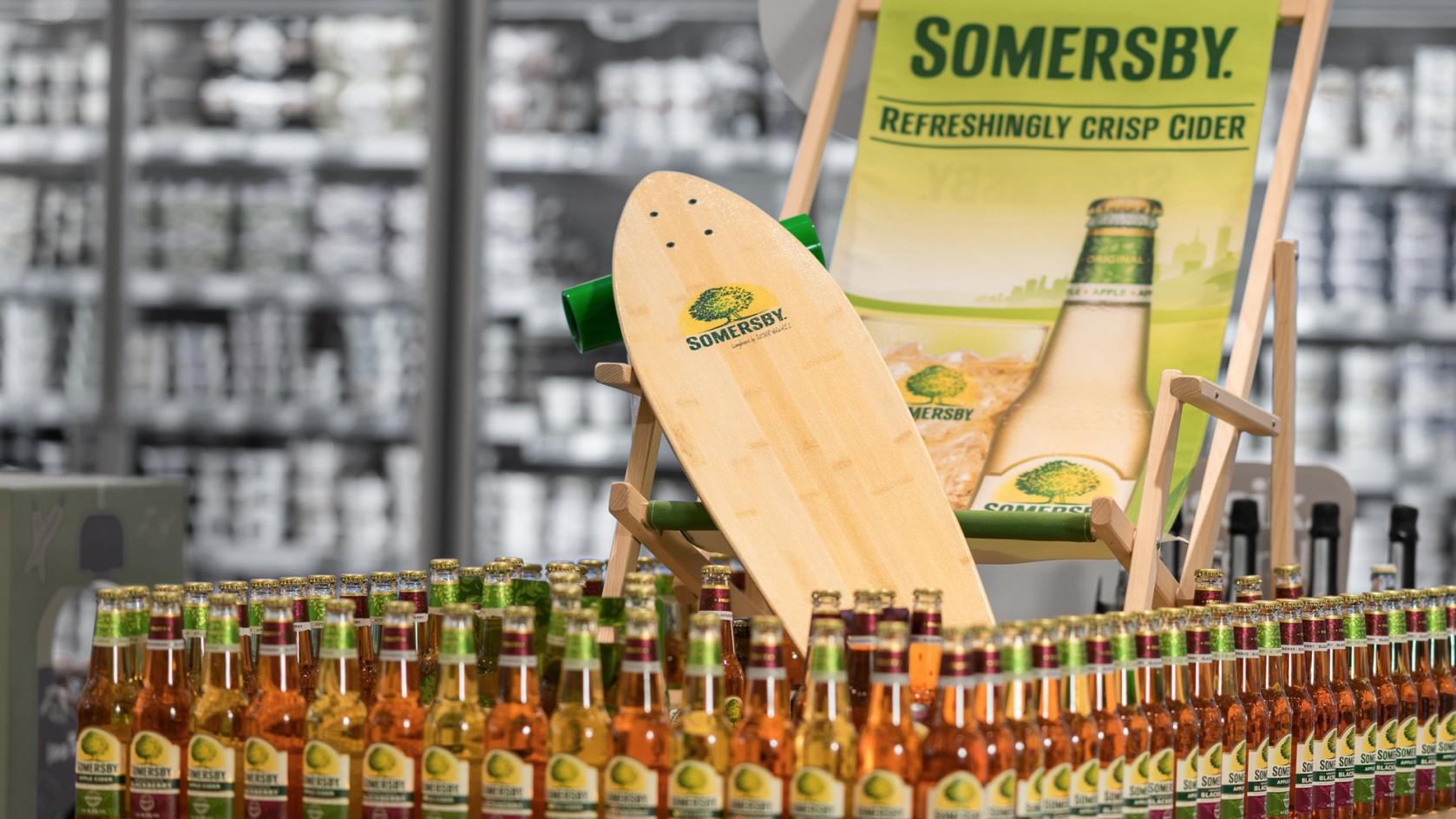 Verkaufsförderung: POS-Aktivierung für Somersby