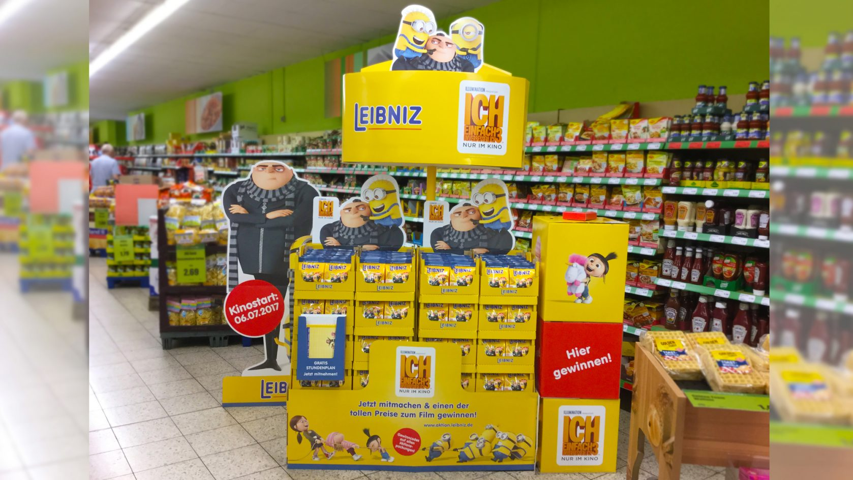Leibniz Minions am POS