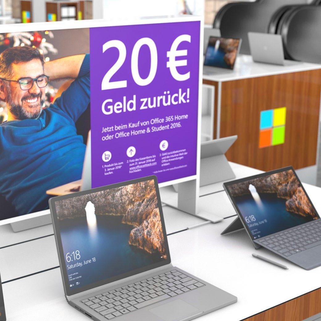 Microsoft Verkaufsförderung