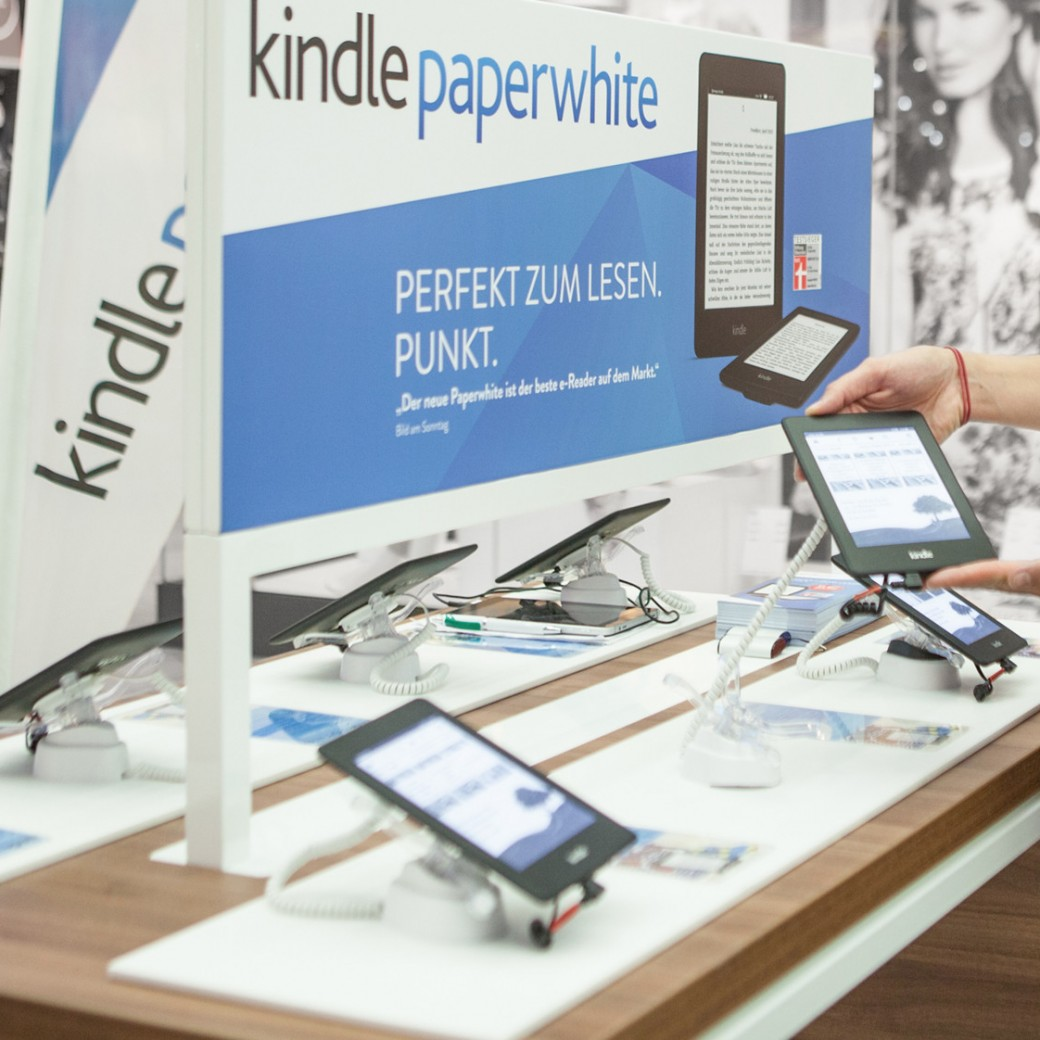Amazon Kindl Pop-up Store
