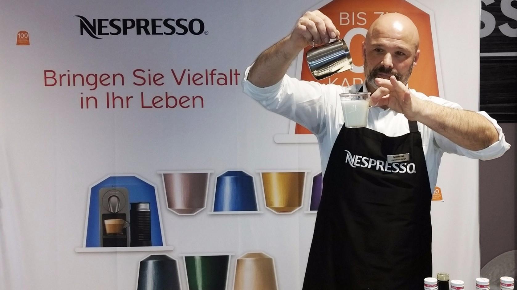 Nespresso Latte Art
