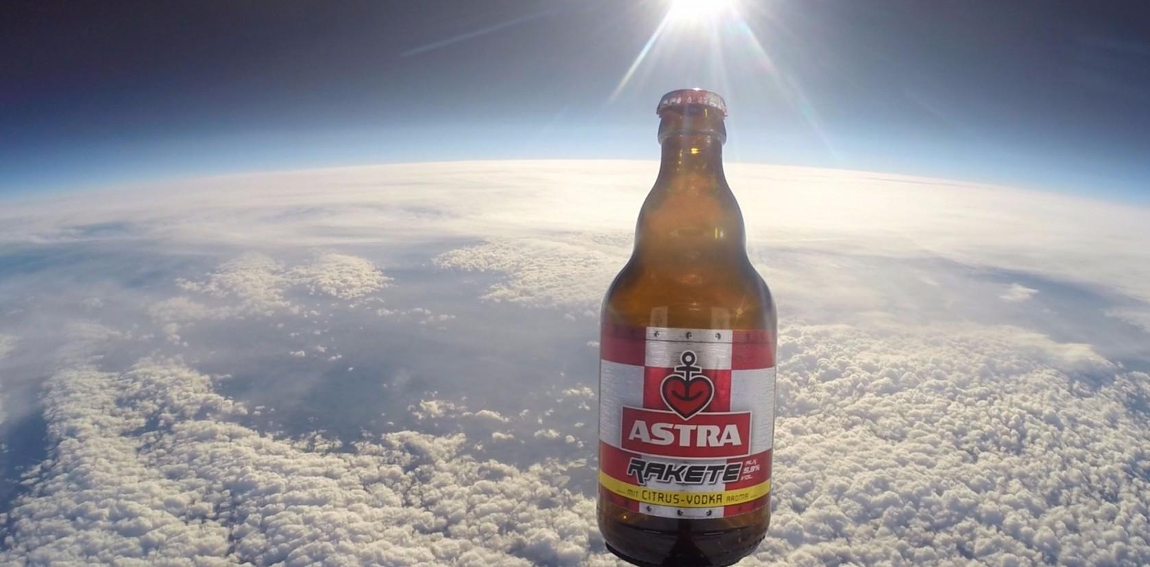 Astra Rakete Launch